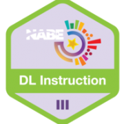 NABE Badge - Instruction in a Two-Way Immersion Program